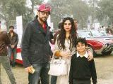 Raza Rehman, Mariah and Jansher. Vintage & Classic Car Club of Pakistan present a classic car show in Lahore. PHOTOS COURTESY SAVVY PR
