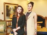 Sahar Fard and Uzma Ramzan. Asifa and Nabeel launch Lifestyle Couture in Lahore. PHOTOS COURTESY SAVVY PR