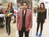 Saira Rizwan, Arsalaan Iftikhar and Mehryn Zafar. Vintage & Classic Car Club of Pakistan present a classic car show in Lahore. PHOTOS COURTESY SAVVY PR
