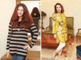 Sara Gandapur, Amina Saeed. Asifa and Nabeel launch Lifestyle Couture in Lahore. PHOTOS COURTESY SAVVY PR