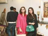 Seher and Nazia. Asifa and Nabeel launch Lifestyle Couture in Lahore. PHOTOS COURTESY SAVVY PR