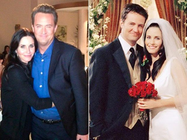 Chandler And Monica Images Galleries