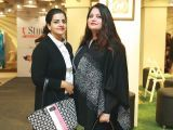 Amna and Samra Ahmad. Studio One launches in Lahore - PHOTOS COURTESY BILAL MUKHTAR EVENTS & PR