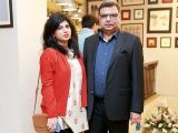 Arooj and Bilal. Studio One launches in Lahore - PHOTOS COURTESY BILAL MUKHTAR EVENTS & PR