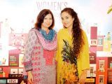 Erum Munir and Sabeeta Syeda. Enclude celebrates its WomenX programme in Karachi - PHOTOS COURTESY CATWALK PR