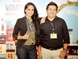 Khizra Munir and Faisal Kapadia. Enclude celebrates its WomenX programme in Karachi - PHOTOS COURTESY CATWALK PR