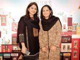 Maria Umer and Nimrah Karim. Enclude celebrates its WomenX programme in Karachi - PHOTOS COURTESY CATWALK PR