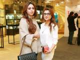 Mariam Khawaja and Sidra Bhadera. Studio One launches in Lahore - PHOTOS COURTESY BILAL MUKHTAR EVENTS & PR
