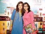 Sabeen Abbasi and Fizza Shahid. Enclude celebrates its WomenX programme in Karachi - PHOTOS COURTESY CATWALK PR