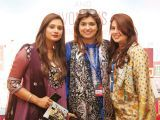 Warda Imran, Reema Naseer and Muneeza Rehman. Enclude celebrates its WomenX programme in Karachi - PHOTOS COURTESY CATWALK PR