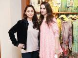 Zubia Saeed and Dania Ishtiaq. Studio One launches in Lahore - PHOTOS COURTESY BILAL MUKHTAR EVENTS & PR
