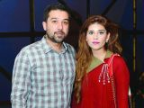 Asad and Mishal. Cinepax Cinema launches with the screening of Tamasha in Lahore - PHOTOS COURTESY BILAL MUKHTAR EVENTS & PR