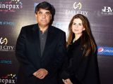 Mr and Mrs Gohar Ijaz. Cinepax Cinema launches with the screening of Tamasha in Lahore - PHOTOS COURTESY BILAL MUKHTAR EVENTS & PR