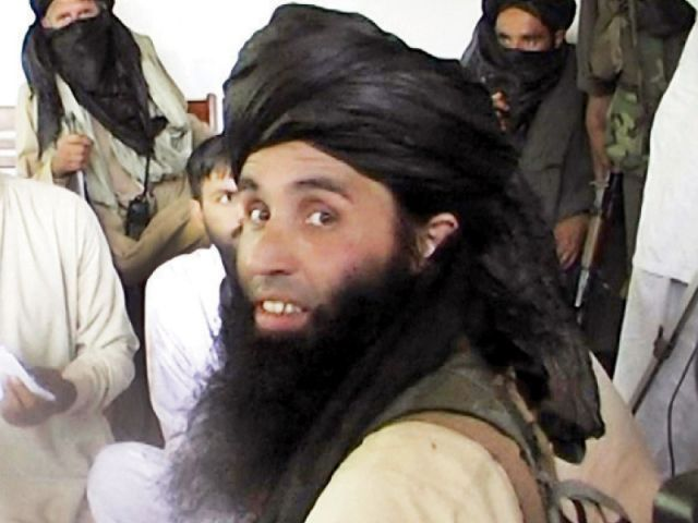 A file photo of TTP chief Mullah Fazlullah. PHOTO: AFP