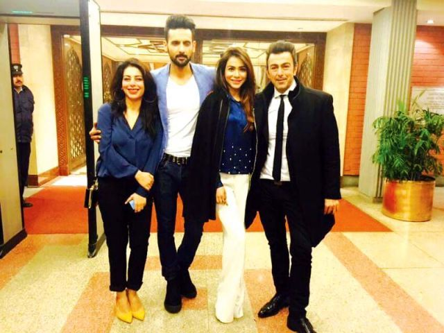 The film features Uzma Hassan, Mohib Mirza, Humaima Malick and Shaan in lead roles. PHOTO: PUBLICITY