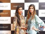 Hira Attique and Hemayal. Naz Mansha lanches INGLOT in Islamabad. PHOTOS COURTESY REZZ PR AND SAVVY PR