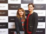 Laila Khan and Noveera Azad. Naz Mansha lanches INGLOT in Islamabad. PHOTOS COURTESY REZZ PR AND SAVVY PR