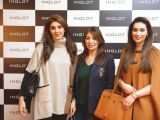 Nadia Tahir, Abida Nauman and Sania Sameer. Naz Mansha lanches INGLOT in Islamabad. PHOTOS COURTESY REZZ PR AND SAVVY PR