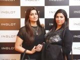 Raheela Khan and Zareen. Naz Mansha lanches INGLOT in Islamabad. PHOTOS COURTESY REZZ PR AND SAVVY PR