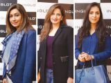 Sehr Ali, Nadia Inam and Samreen Bhatti. Naz Mansha lanches INGLOT in Islamabad. PHOTOS COURTESY REZZ PR AND SAVVY PR