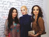 Shefali Munshi, Zoella Alam Galadari and Fauzia Keher. The restaurant Haandi launches in Dubai. PHOTOS COURTESY SAVVY PR