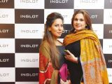 Sobia Nazir and Natasha Ahmed.. Naz Mansha lanches INGLOT in Islamabad. PHOTOS COURTESY REZZ PR AND SAVVY PR