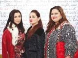 Sonia Kamran, Abeehaa Mamoon and Sadaf Razvi. The restaurant Haandi launches in Dubai. PHOTOS COURTESY SAVVY PR