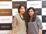 Sundas Rasool and Shumaila Rajput. Naz Mansha lanches INGLOT in Islamabad. PHOTOS COURTESY REZZ PR AND SAVVY PR