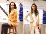 Alifia and Anusheh Shahid. Natasha Kamal launches her label in Karachi. PHOTOS COURTESY IMPERIAL MANAGEMENT SERVICES
