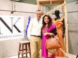 Amir Adnan and Huma Adnan5. Natasha Kamal launches her label in Karachi. PHOTOS COURTESY IMPERIAL MANAGEMENT SERVICES