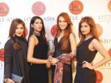Aqsa Ali, Dania Shaikh, Nadia Hussain and Kanwal Ilyas. Farooq Owais launches Little Asia restaurant in Islamabad. PHOTOS COURTESY REZZ PR & EVENTS