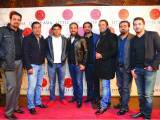 Fahad, Atif, Jawad, Farooq, Akbar, Yaseer, Awaemer and Ahmed Bilour. Farooq Owais launches Little Asia restaurant in Islamabad. PHOTOS COURTESY REZZ PR & EVENTS