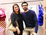 Hina and Shoaib Ahmed. Natasha Kamal launches her label in Karachi. PHOTOS COURTESY IMPERIAL MANAGEMENT SERVICES