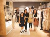 Mariam, Ismat, Amna and Sumyra. Natasha Kamal launches her label in Karachi. PHOTOS COURTESY IMPERIAL MANAGEMENT SERVICES
