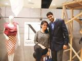 Mina and Turab Ramzi. Natasha Kamal launches her label in Karachi. PHOTOS COURTESY IMPERIAL MANAGEMENT SERVICES