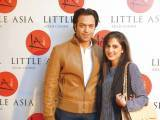 Mr and Mrs Akbar. Farooq Owais launches Little Asia restaurant in Islamabad. PHOTOS COURTESY REZZ PR & EVENTS