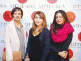 Novera, Laila Hasan and Ayesha5. Farooq Owais launches Little Asia restaurant in Islamabad. PHOTOS COURTESY REZZ PR & EVENTS
