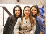 Sonia, Samiha and Dania. Natasha Kamal launches her label in Karachi. PHOTOS COURTESY IMPERIAL MANAGEMENT SERVICES