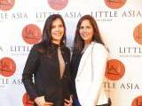Tamkeen and Nada Bangash.. Farooq Owais launches Little Asia restaurant in Islamabad. PHOTOS COURTESY REZZ PR & EVENTS