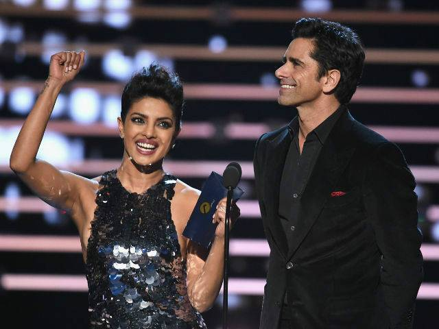 Bollywood diva won the Favourite Actress Award for Quantico. PHOTO: NDTV