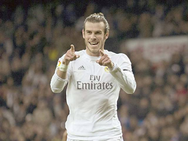 Bale is enjoying arguably his best form in Real colours as he guided Los Blancos to a 5-0 win over Deportivo by netting a hat-trick — his second in four games. PHOTO: AFP