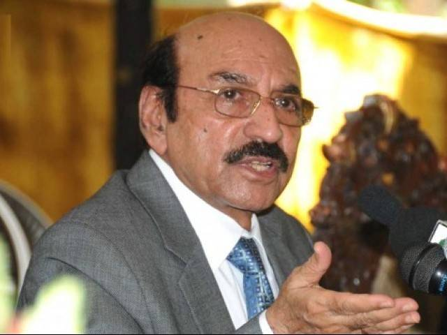 Chief Minister Sindh Qaim Ali Shah. PHOTO: EXPRESS