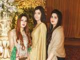 THE CHIC SHEIKH WEDDING: Gulmina Babar, Ramla Zubair and Maryam