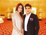 THE CHIC SHEIKH WEDDING: Mehreen Syed and Ahmed Sheikh