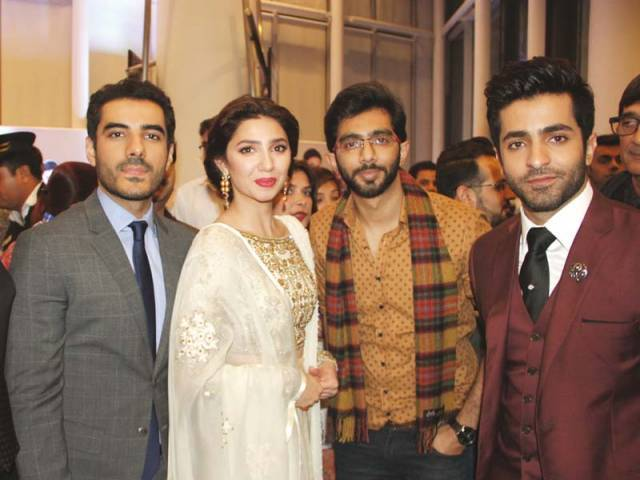 A STAR STUDDED NIGHT: Adeel, Mahira, Hasan and Shehryar