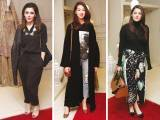 TRUNK SHOW: Ammara Hikmat, Amal Khan and Benazir Shah