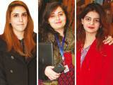 I HAVE A DREAM:  Anooshay Shalgan, Hira Qureshi and Sophie