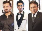 A STAR STUDDED NIGHT: Hamza Ali Abbasi, Ahmed Godil and Pervez Musharraf