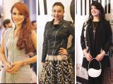 A STAR STUDDED NIGHT: Nadia Hussain, Komal Rizvi and Zebunnisa Bangash
