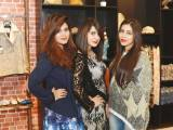 FLYING HIGH ON HIGH STREET: Urooj, Anza and Tooba
